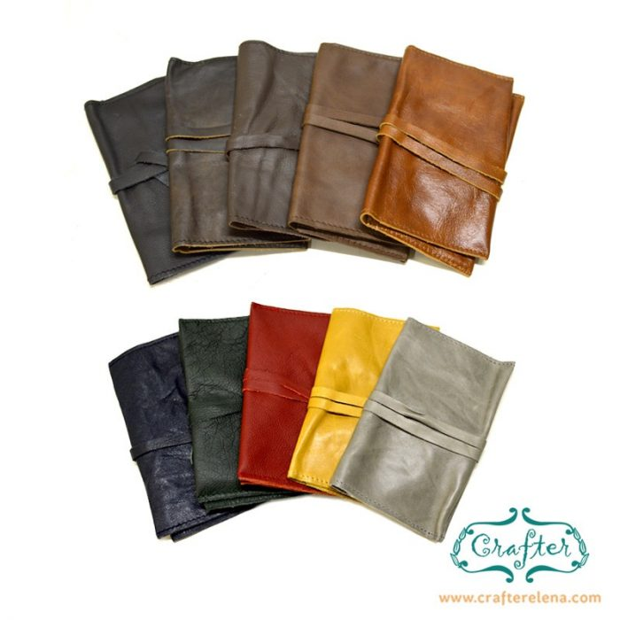Leather Tobacco Pouch colour choice