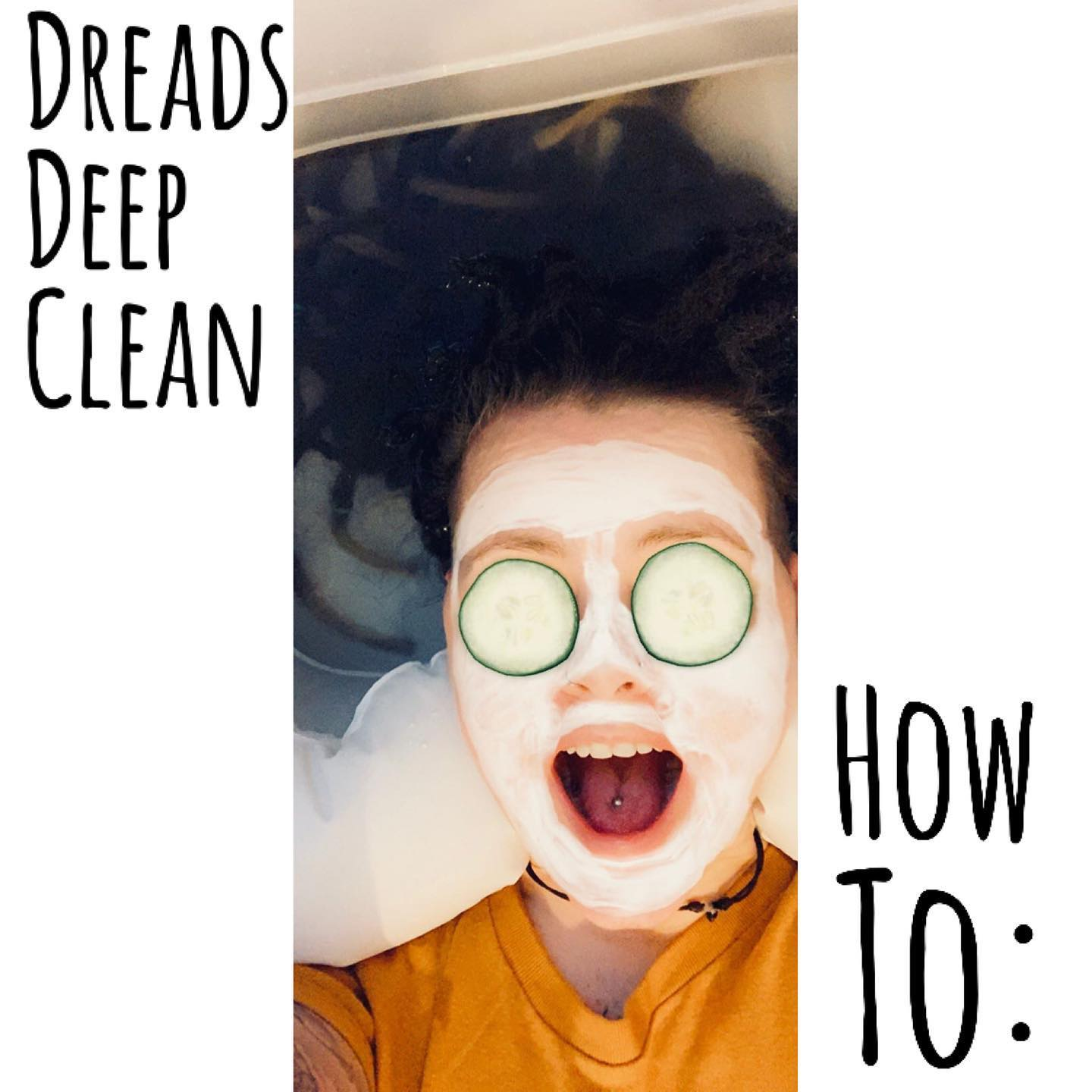 How to: Dreadlocks Deep Cleaning