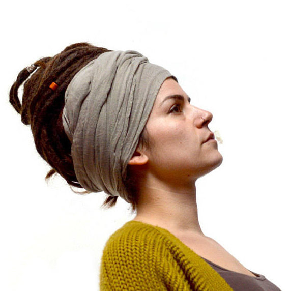Dreadlock Scarf Head Wrap Turban
