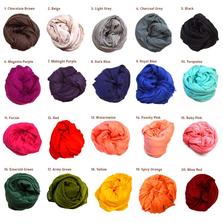 Dreadscarf colour choice
