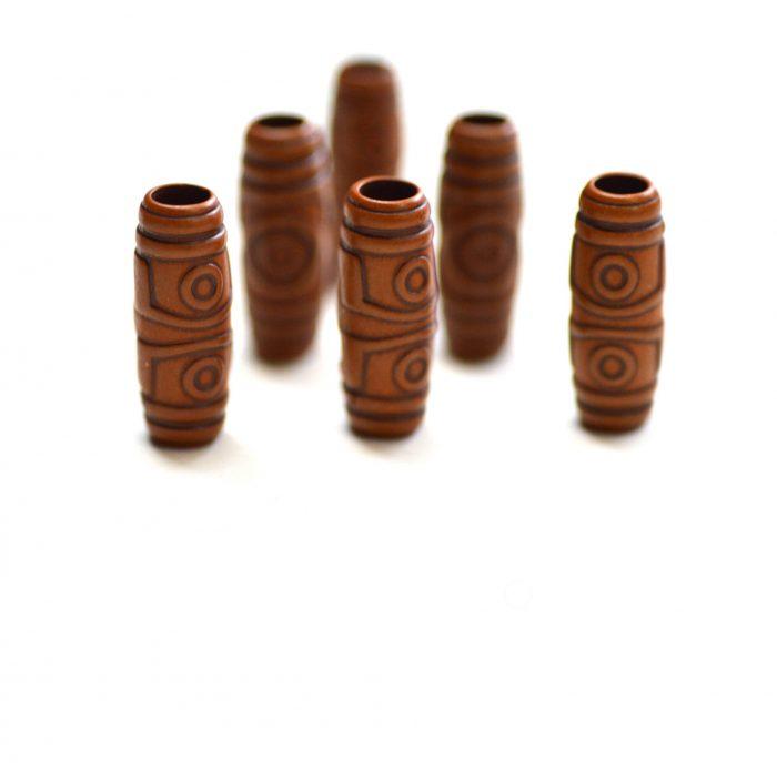 tribal dreadlock beads
