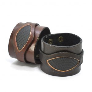 Buffalo Leather Cuff
