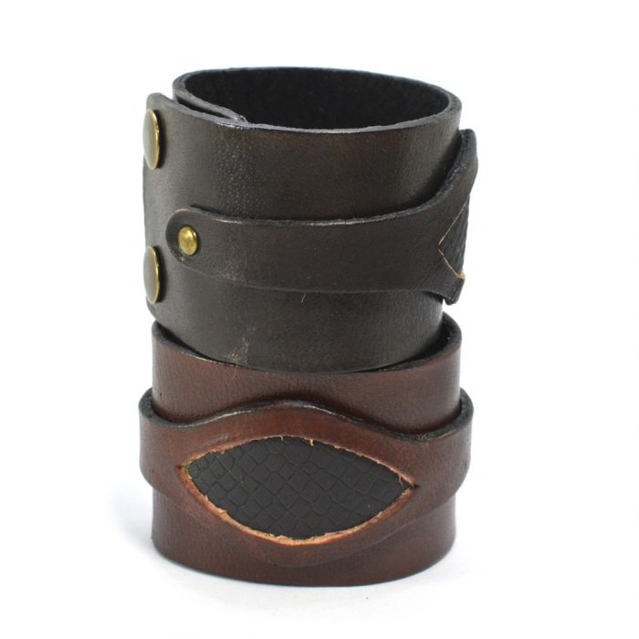 Buffalo Leather Cuff