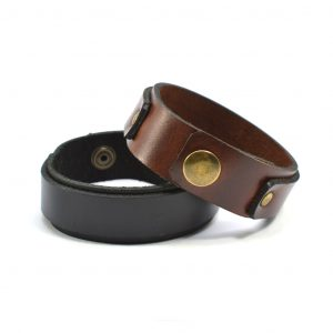 buffalo leather cuff bracelet Unisex