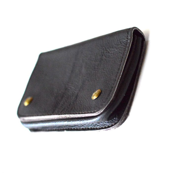Leather tobacco pouch, leather wallet, purse, cow leather,