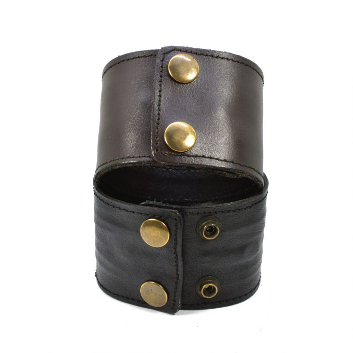 Leather Zip Cuff