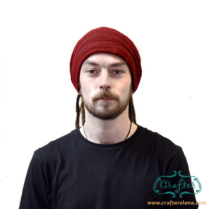 dreadlock hat beanie wool bandana