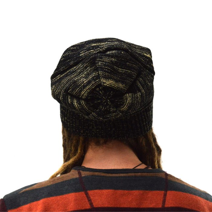dreadlock beanie knitted
