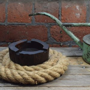 wooden ashtray