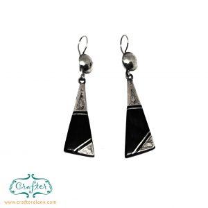Tuareg Modern Triangle Earrings