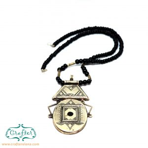 Tuareg Round Talisman Necklace