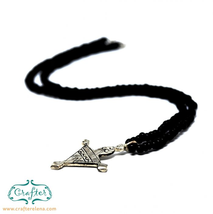 Tuareg Small Spear Necklace