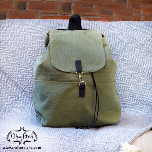 backpack, summer bag, cotton, festival , music festival