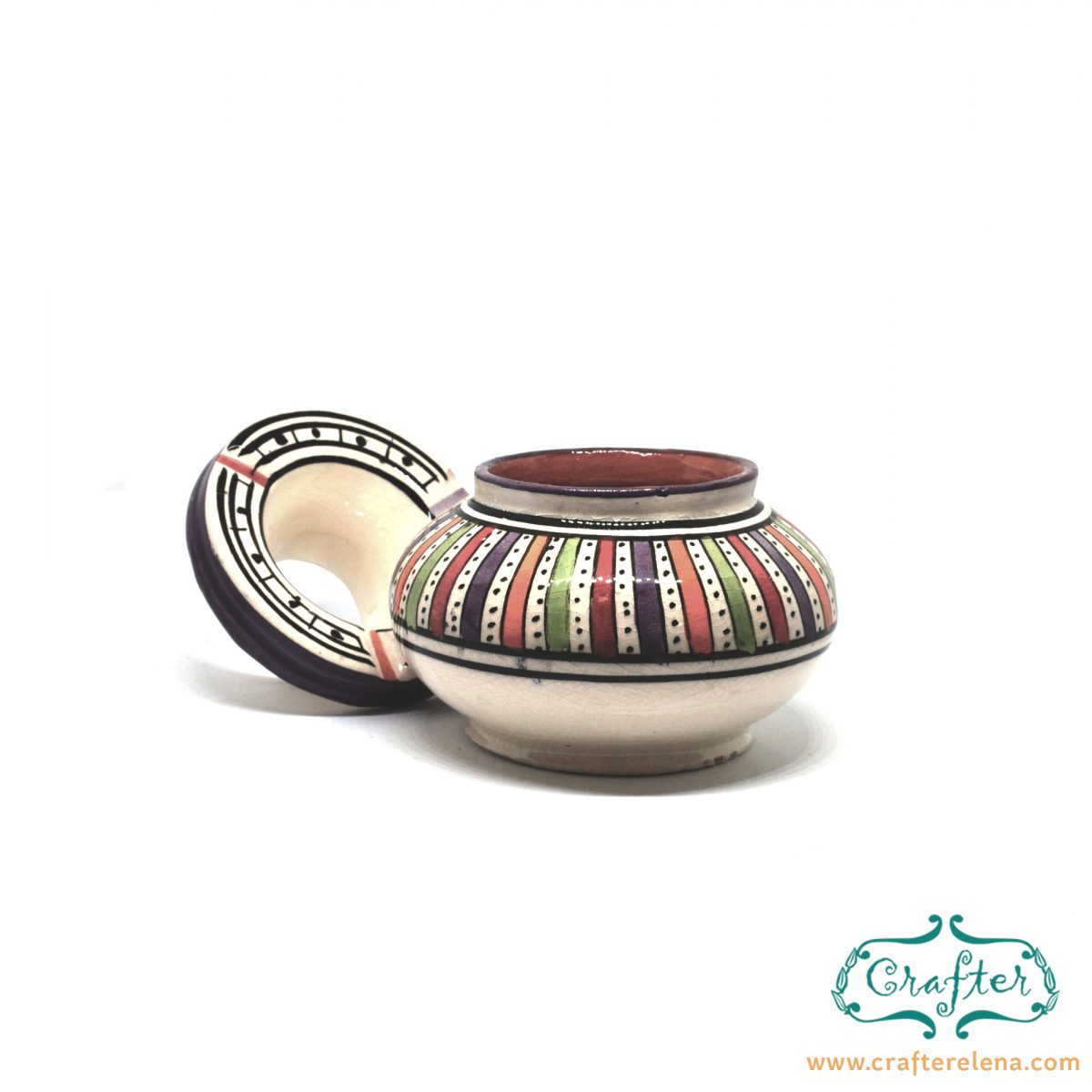 ceramic ashtray moroccan