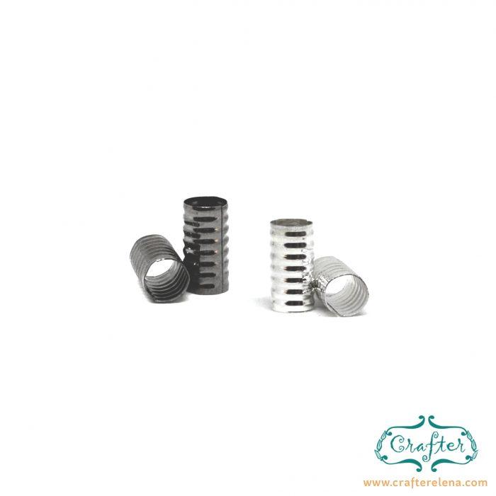 silver black tribal dreadlock beads dreadlock accessories CrafterElena