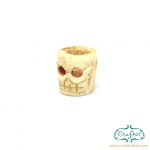 camel bone tribal dreadlock beads dreadlock accessories CrafterElena