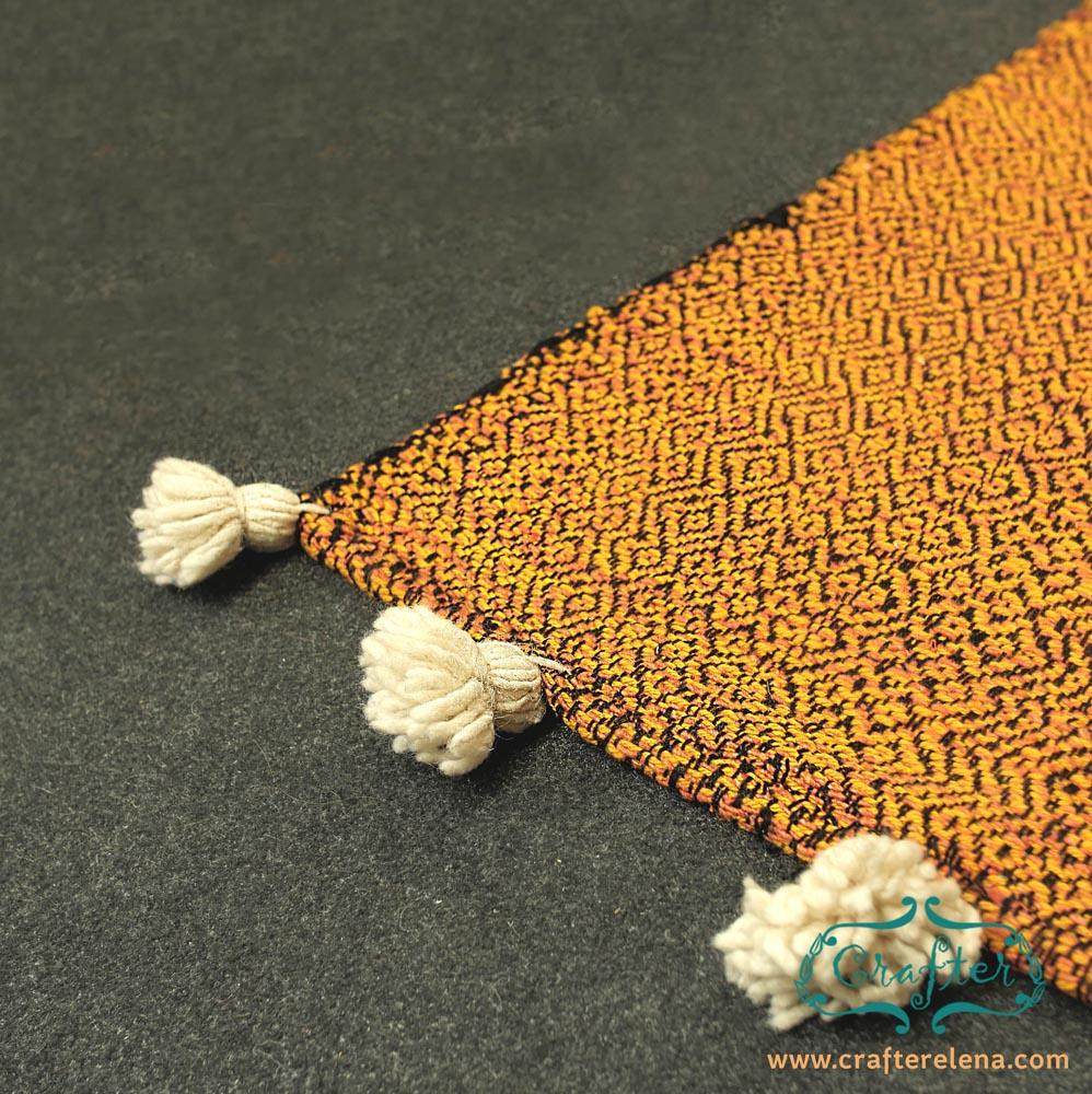 rug kilim Moroccan wool