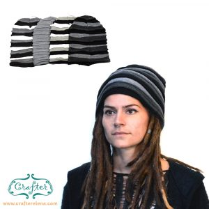 dreadlock hat beanie wool
