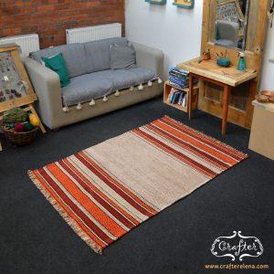 rug carpet geometric colorful