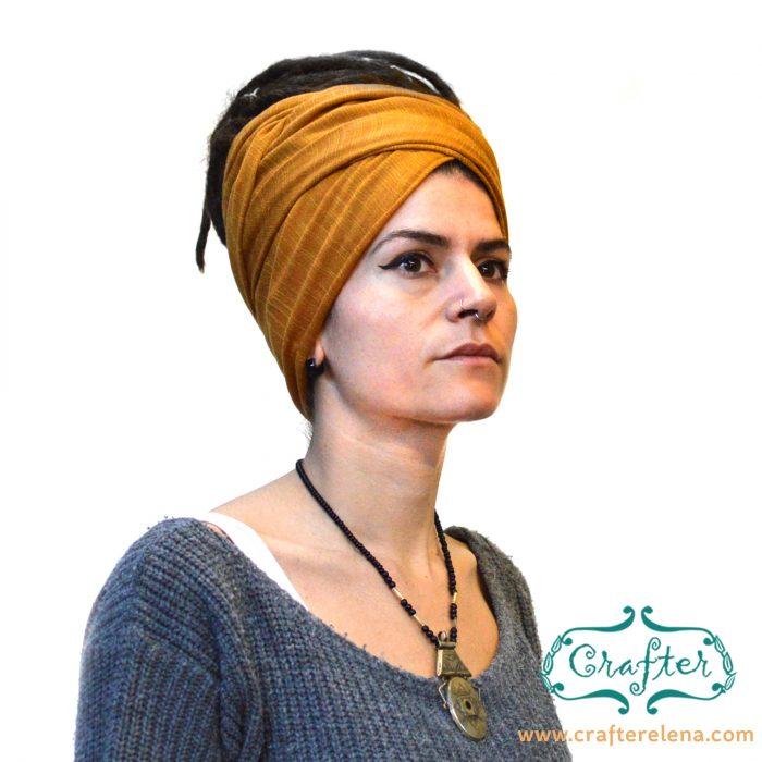Dreadlock Scarf Head Wrap Turban