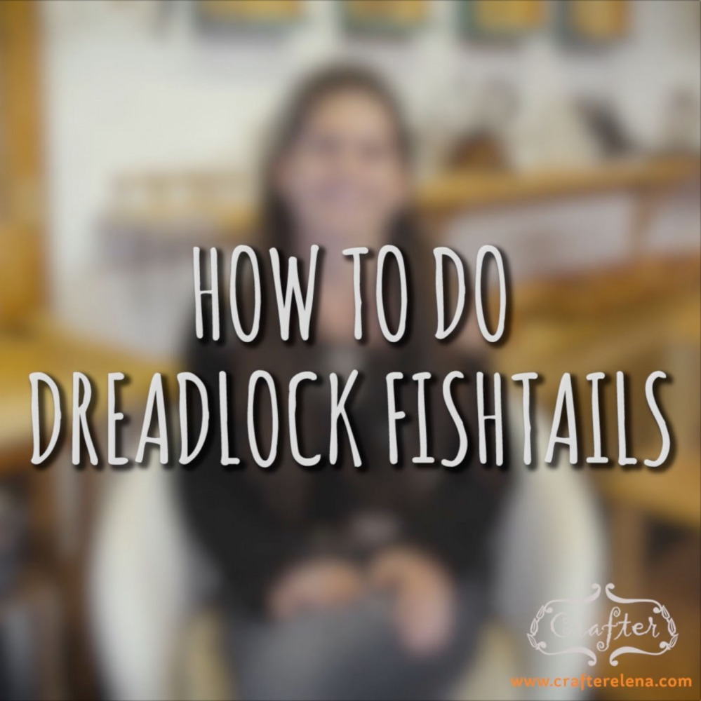 How To Do Dreadlock Fishtails