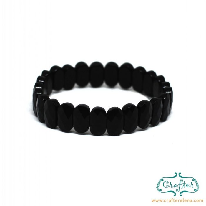 black onyx stone bracelet