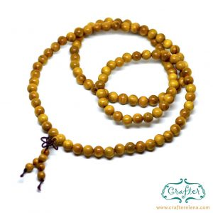 Wood Praying Rope Beads Necklace Bracelet