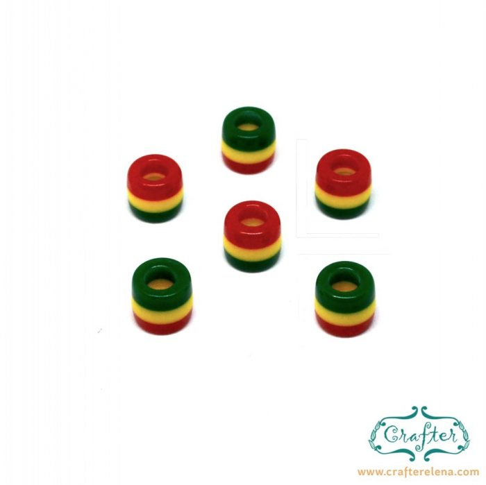 rasta-beads-6mm-resin-crafterelena