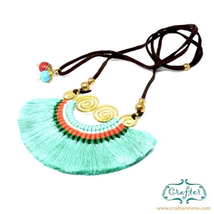 fan-tassel-hoop-thailand-earrings-Turquoise-crafterelena