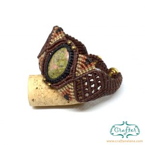 unakite-macrame-bracelet-brown-handmade-hippie