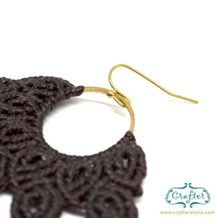 macrame-brown-handmade-fan-earrings-crafterelena-4