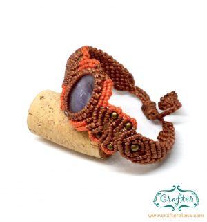 amethyst-macrame-bracelet-orange-handmade-hippie