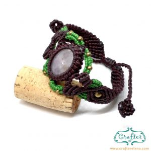 amethyst-macrame-bracelet-burgundy-green-handmade-hippie
