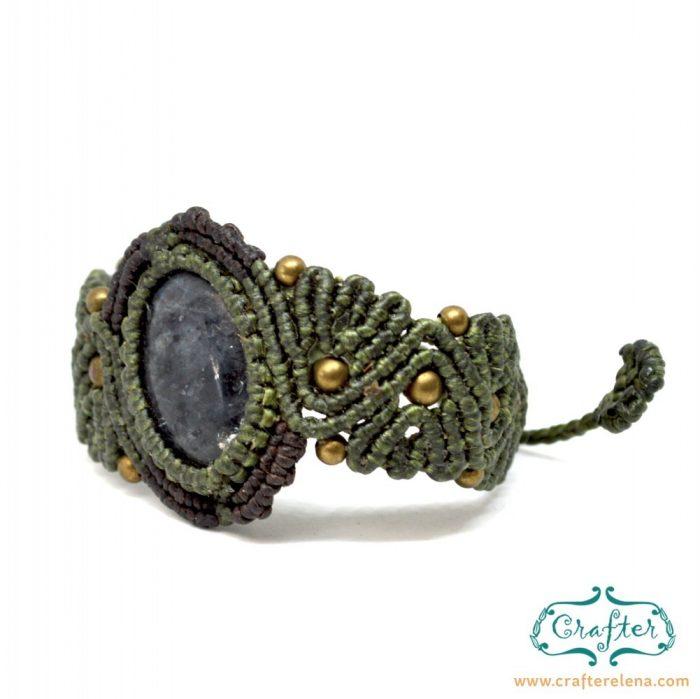 grey-labradorite-macrame-bracelet-green-handmade-hippie