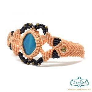 blue-jade-macrame-bracelet-beige-handmade-hippie