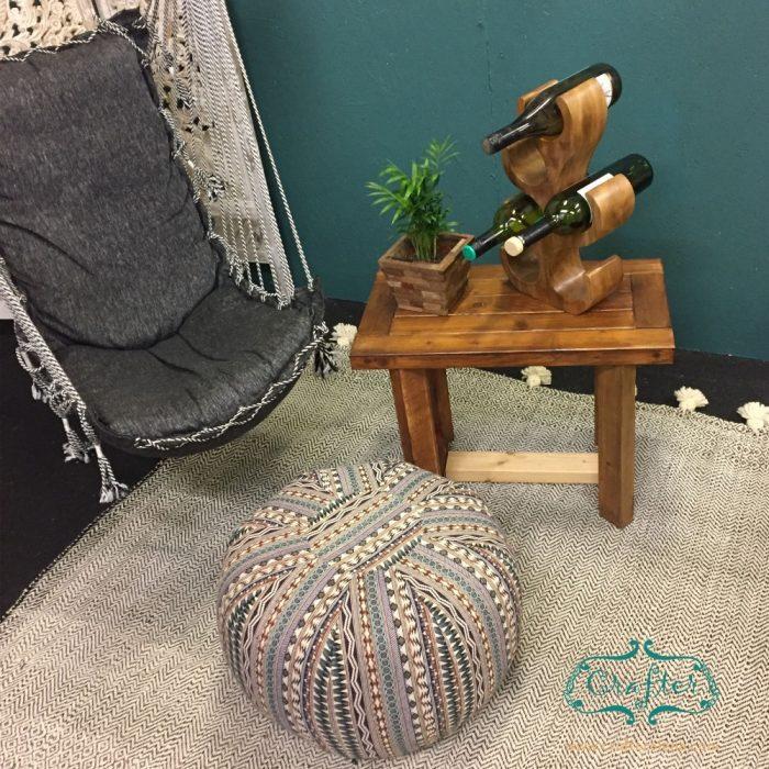 Wine Bottle Holder pouf swing chair