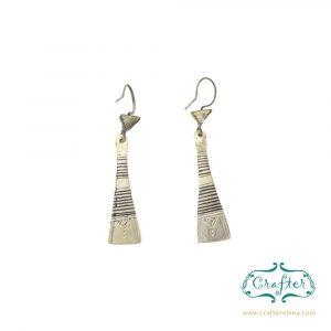 Tuareg Metal Earrings
