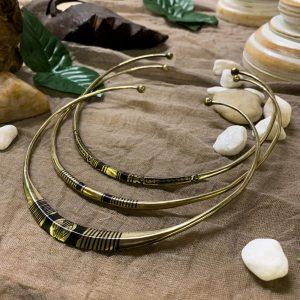 Tuareg Brass Choker Necklace