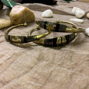 Tuareg Brass Bracelet