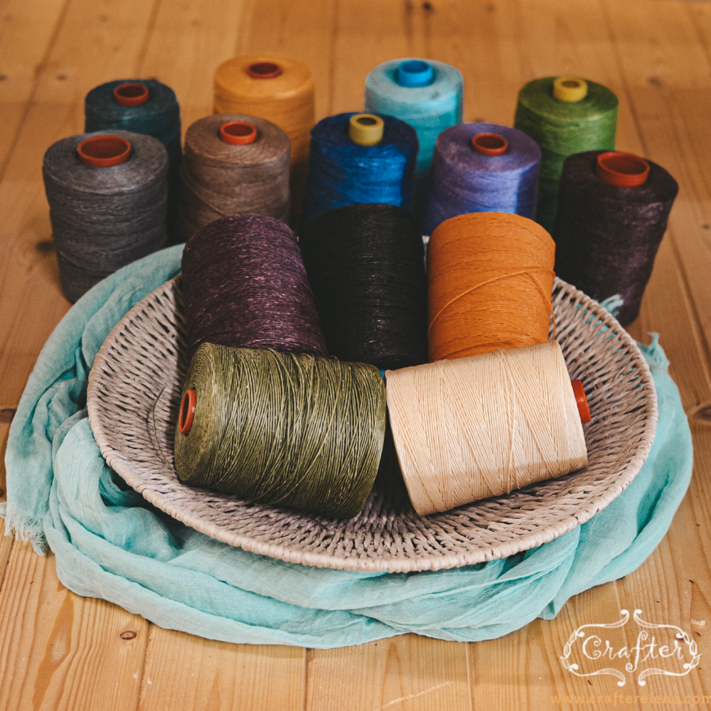 waxed cord roll colour pallet