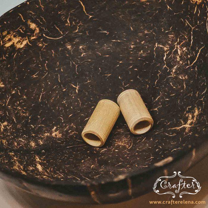 Wood & Bone Beads tribal organic eco