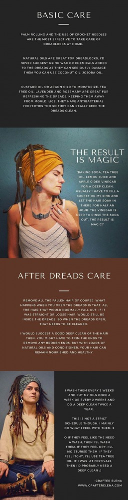 dreadlock care interview