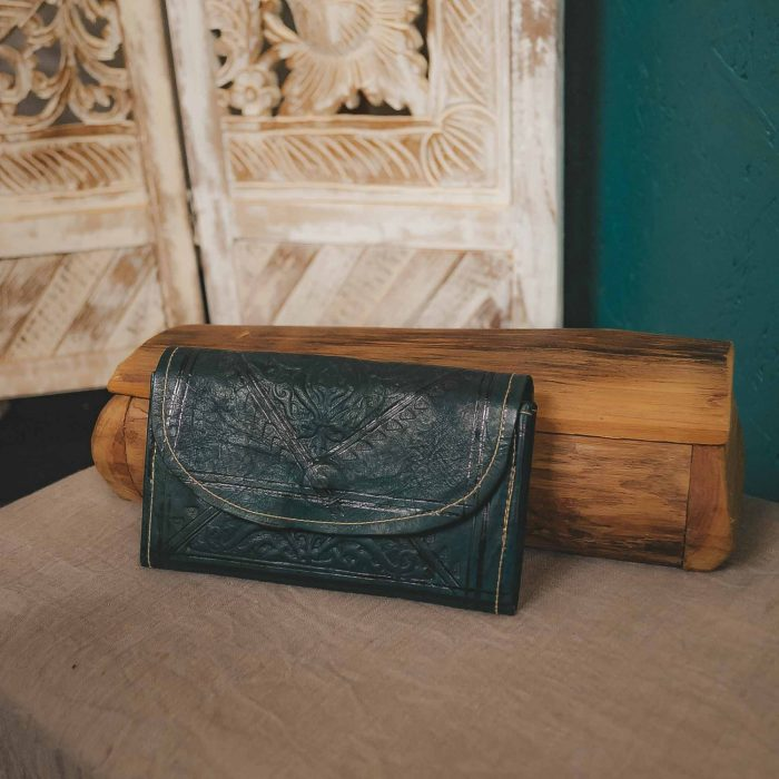 Leather Moroccan Wallet Large CrafterElena