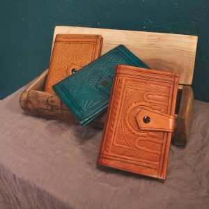 Leather Moroccan Wallet Medium CrafterElena