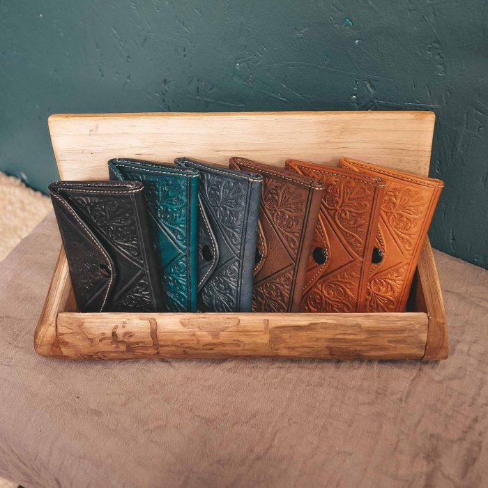 Leather Moroccan Wallet Small CrafterElena
