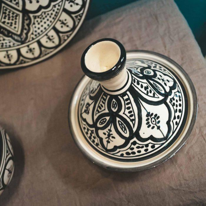 Moroccan Tagine Pot Set Plate Bowl CrafterElena-2