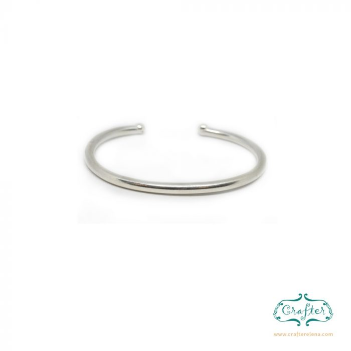 Balinese Elegant Silver Bracelet