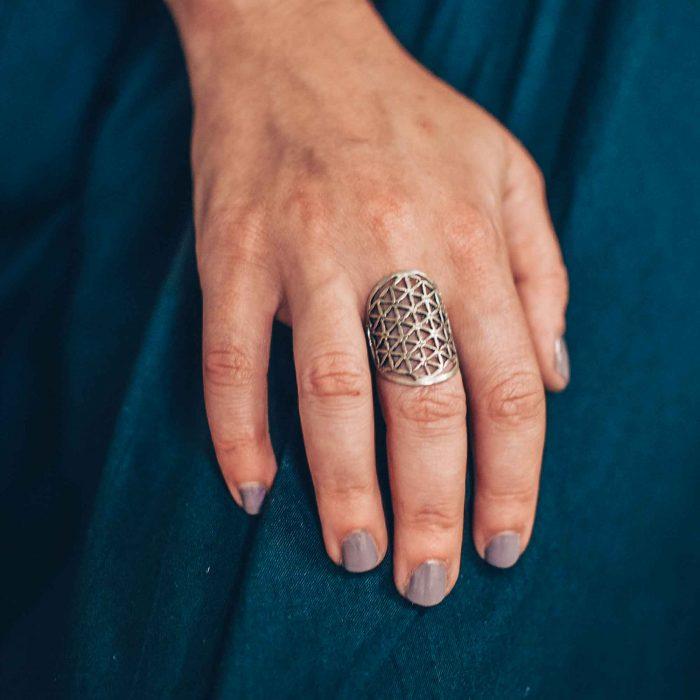 sacred geometry rings