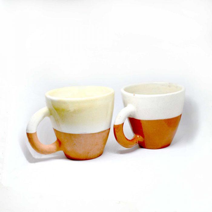 Ceramic Mugs Terracotta Moroccan lifestyle