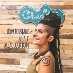 How-to-make-a-half-dreadlock-Bun-CrafterElena